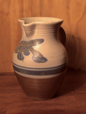 1 Quart Pitcher with Fish Pattern For Devon and Jonathan