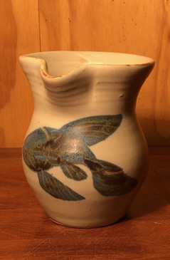 Creamer with Fish Pattern For Devon and Jonathan-SOLD-