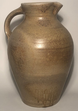 2 Gallon Pitcher-Woodfired Vapor Glaze (B)