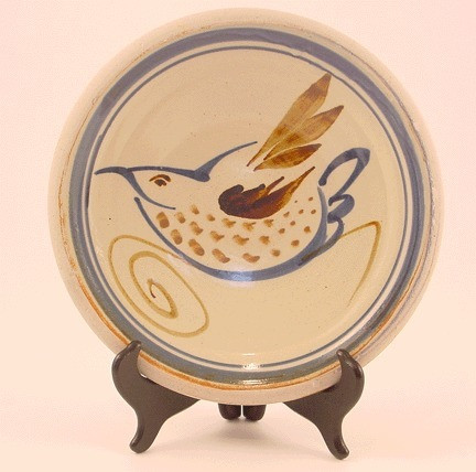 Dinner Plate-1Bird MultiColor