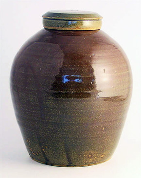 Ginger Jar with Cover-SOLD!