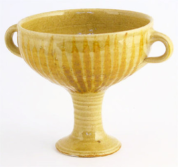 Goblets inspired by pots from Cyprus