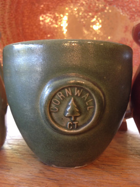 Cornwall Commemorative Teabowl-Dark Green