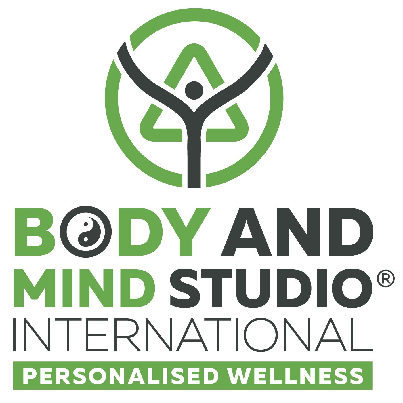 Body and Mind Studio International Logo - Square
