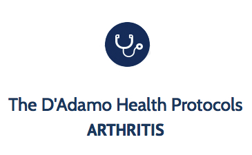The D'Adamo Health Protocols - Arthritis