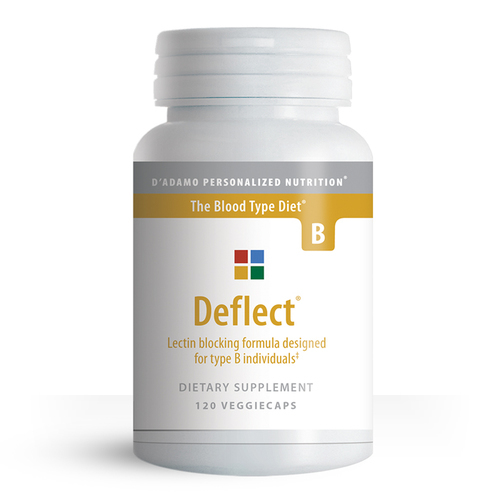 D'Adamo Personalized Nutrition - Deflect B (120 Capsules)