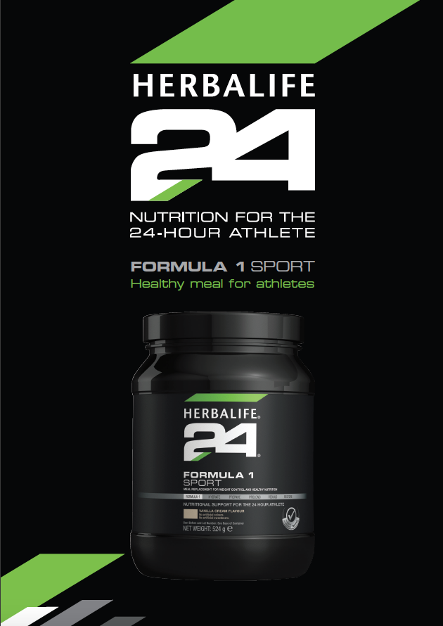 HERBALIFE24 - Formula 1 Sport - Healthy Meal for Athletes - Vanilla Cream (524g)