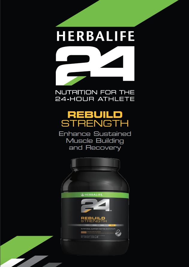 HERBALIFE24 - Rebuild Strength - Chocolate (1000g)