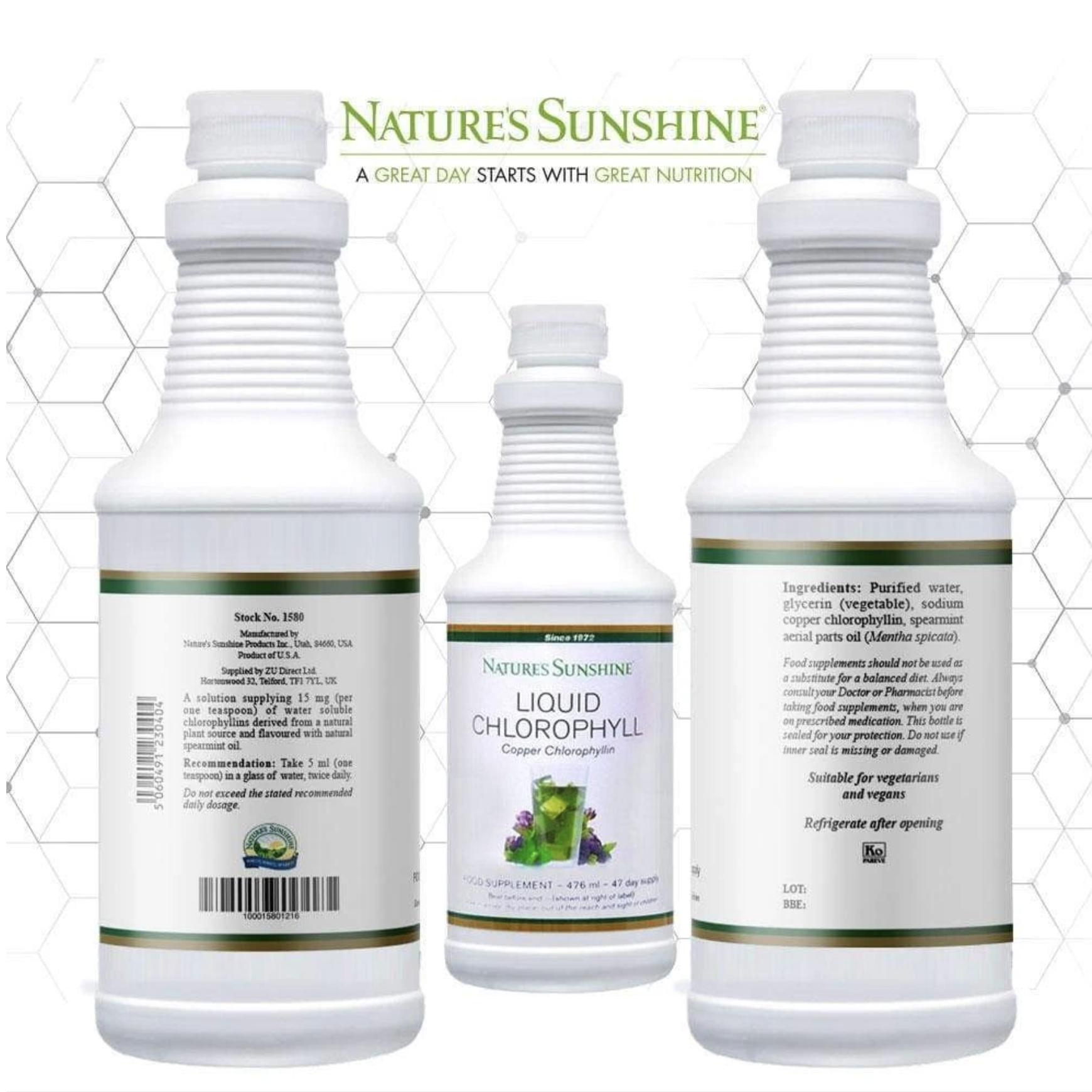 Nature's Sunshine Liquid Chlorophyll Orders