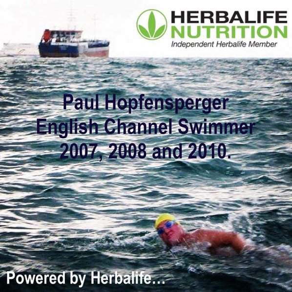 Paul Hopfensperger - English Channel Swimmer - Powered by Herbalife