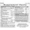Exakta (120 Vegetarian Capsules) - Label