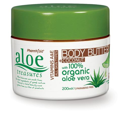 Aloe Treasures Body Butter Coconut (200ml)