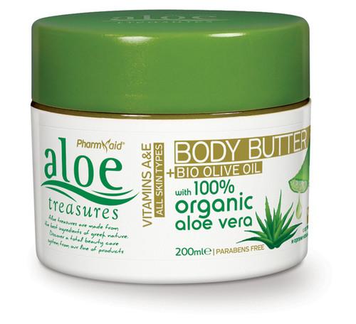Aloe Treasures Body Butter Olive Oil (200ml)