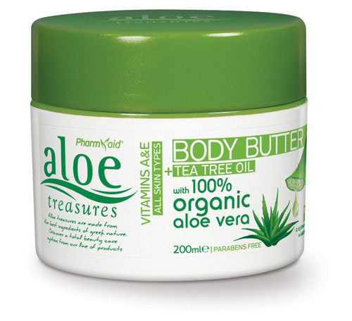 Aloe Treasures Body Butter Tea Tree Oil (200ml)
