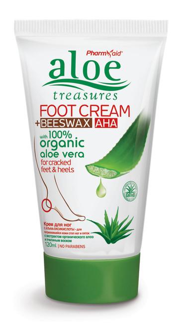 Aloe Treasures Foot Cream Beeswax (120ml)