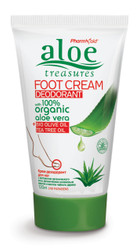 Aloe Treasures Foot Cream Deodorant (120ml)