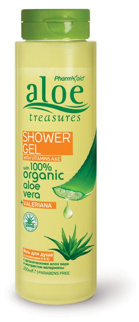 Aloe Treasures Shower Gel Valeriana (250ml)