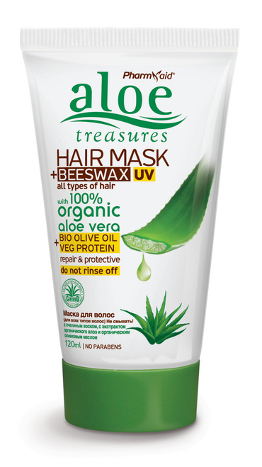 Aloe Treasures Hair Mask + Beeswax UV (120ml)