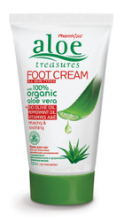 Aloe Treasures Foot Cream Olive Oil (120ml)