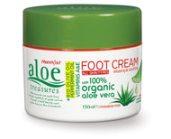 Aloe Treasures Foot Cream Natural (150ml)