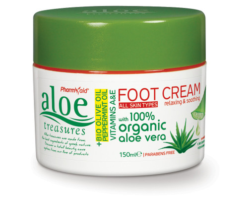 Aloe Treasures Foot Cream Natural (150ml)
