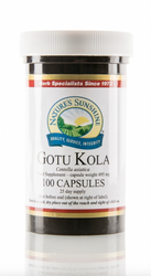 Nature's Sunshine - Gotu Kola (100 Capsules) - Bottle
