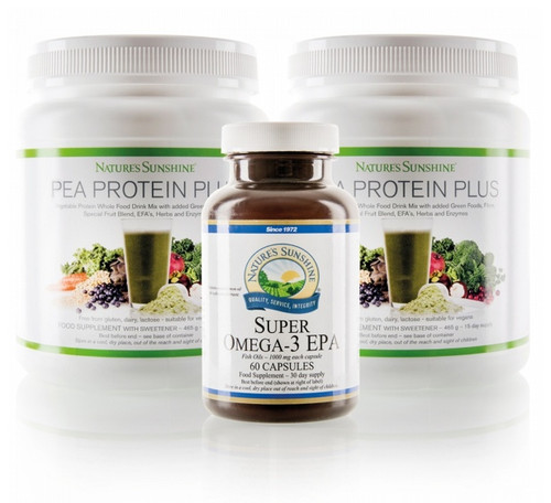 Nature's Sunshine - Promega Daily Support Pack - Bottles