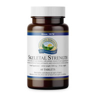 Nature's Sunshine - Skeletal Strength (60 Vegan Tablets) - Bottle