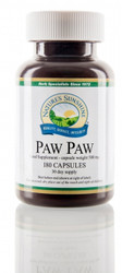 Nature's Sunshine - Paw Paw (180 Capsules) - Bottle