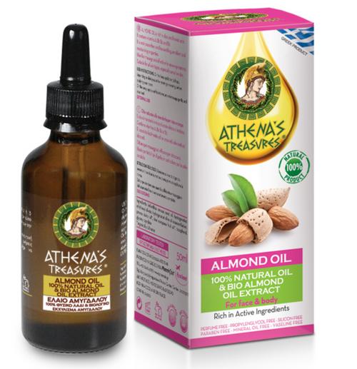 Athena's Treasures Almond Natural Oil (50ml)