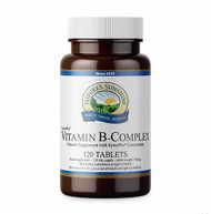 Nature's Sunshine - Vitamin B-Complex (120 Vegetarian Tablets) - Bottle