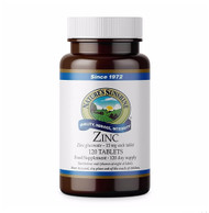 Nature's Sunshine - Zinc (120 Vegetarian Tablets) - Bottle