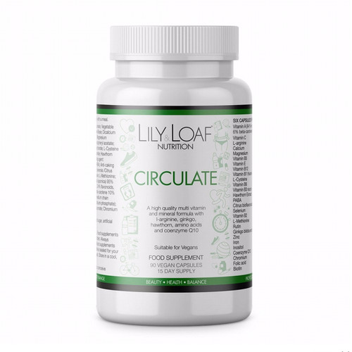 Lily & Loaf - Circulate (90 Vegan Capsules) - Bottle