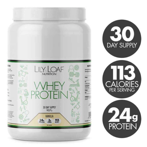 Lily & Loaf - Whey Protein - Vanilla (907g) - Bottle