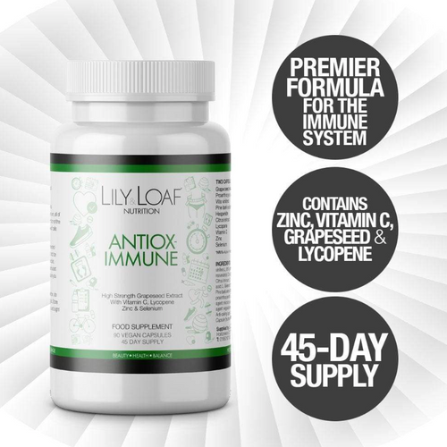 Lily & Loaf - Antiox-Immune (90 Vegan Capsules) - Bottle