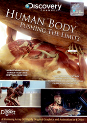 Human Body: Pushing the Limits - 4 DVD Autographed Set (UK - Region 2 DVD) - Front Cover
