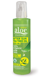 Aloe Treasures Body Gel After Sun Tea Tree Oil (250ml)