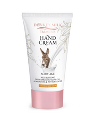 Donkey Milk Treasures Hand Cream for Cracked Skin with Organic Olive Oil (100ml)