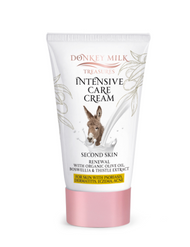Donkey Milk Treasures - Intensive Care Cream with Organic Olive Oil (120ml)