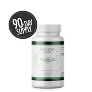 Lily & Loaf - High Strength Vitamin D3 (90 Vegan Capsules)