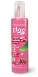 Aloe Treasures Body Gel After Sun Pomegranate (250ml)