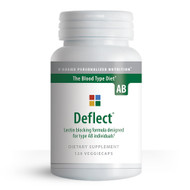 Deflect AB - Lectin Blocker for Blood Type AB (120 Capsules) - Container
