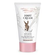 Donkey Milk Treasures - Repairing Foot Cream Olive Oil & Tea Tree (120ml)