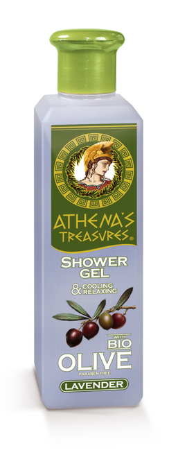Athena's Treasures (Cooling & Relaxing) Lavender Shower Gel (250ml)