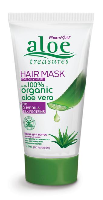 Aloe Treasures Hair Mask For Oily Hair (150ml)