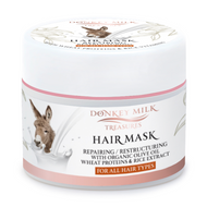 Donkey Milk Treasures - Repairing & Restructuring Hair Mask (200ml)