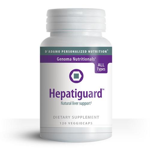 D'Adamo Personalized Nutrition - Hepatiguard (120 Vegetarian Capsules) - Bottle