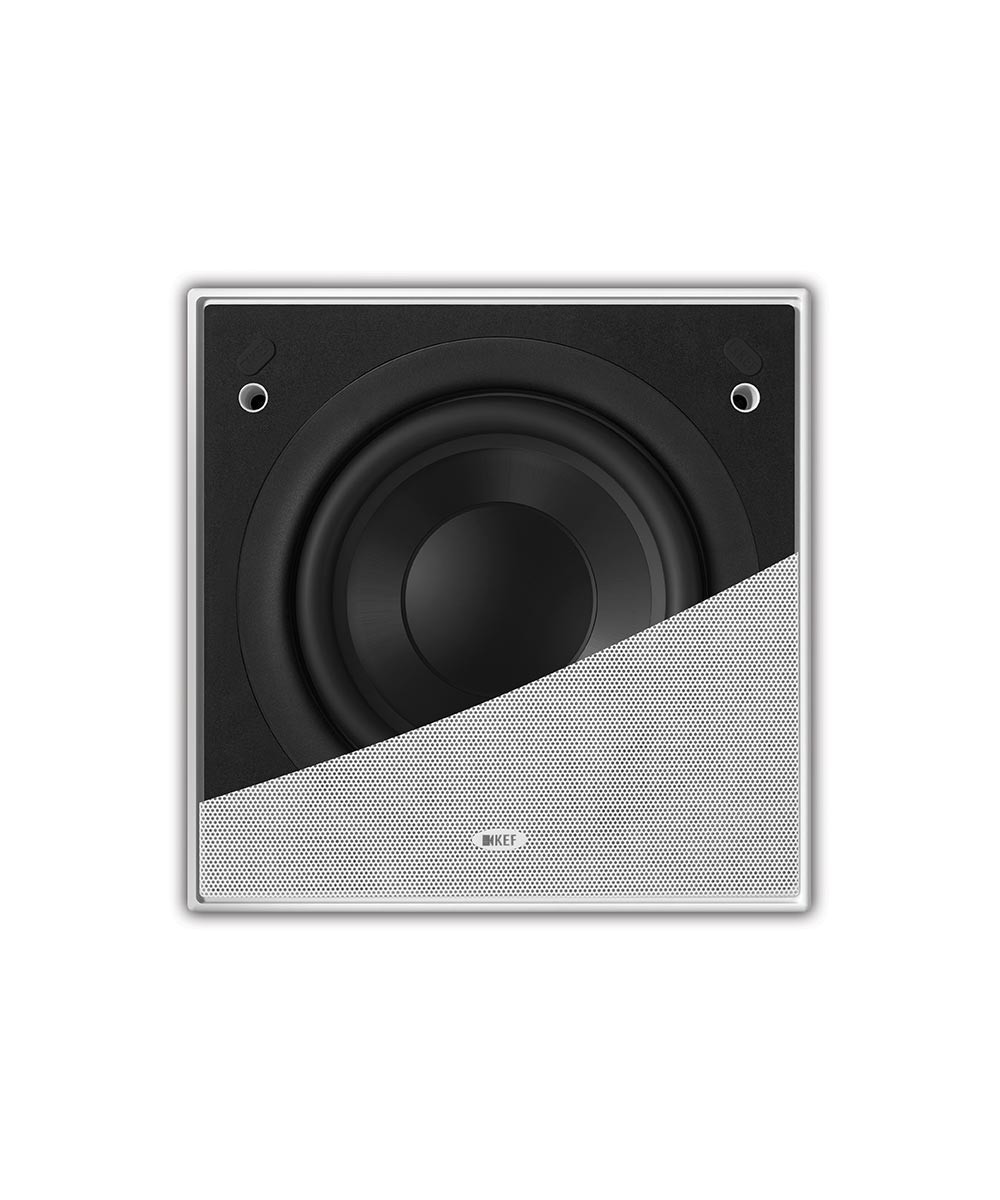 KEF Ci200QSb-THX In-Wall Subwoofers (pair)