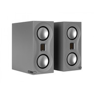 Monitor Audio Studio Speakers (grey dem set including stands)