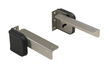 Spring-Loaded Fold Down Mounting Hinges
